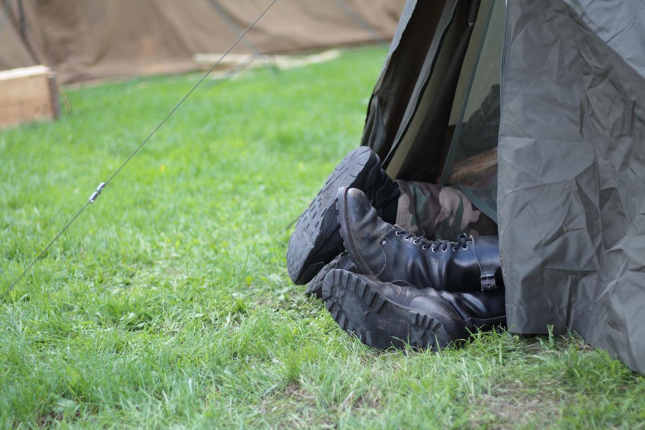 bottines militaires